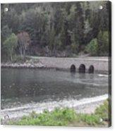 Acadia Bridge Acrylic Print