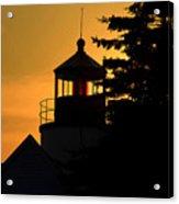 Acadia Lighthouse Acrylic Print by Barry Shaffer