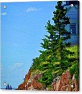 Acadia Lighthouse Acrylic Print