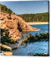 Acadia National Park Rocky Shoreline Acrylic Print