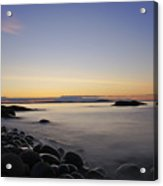 Acadia Sunrise Acrylic Print