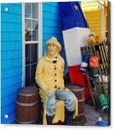Acadian Fisherman, Prince Edward Island, Canada Acrylic Print