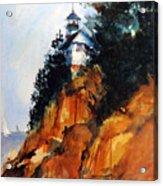 Acadian Lighthouse Acrylic Print