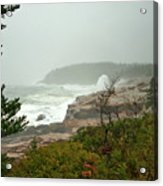 Acadian Storm Acrylic Print