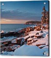 Acadian Winter Acrylic Print