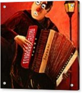 Accordeon Acrylic Print