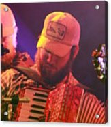 Accordion Player Acrylic Print