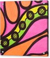 Aceo Abstract Design Acrylic Print