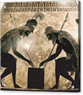 Achilles & Ajax, C540 B.c Acrylic Print