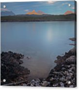 Achnahaird Bay And Assynt Mountains Acrylic Print