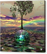 Acid Tree Acrylic Print