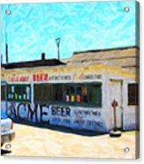 Acme Beer At The Old Lunch Shack At China Camp Acrylic Print