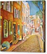 Acorn Street Acrylic Print