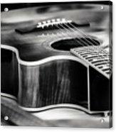 Acoustic Noir Acrylic Print