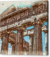 Acropolis I Acrylic Print