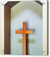 Across A Cross Acrylic Print
