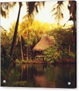 Across The Lagoon Acrylic Print