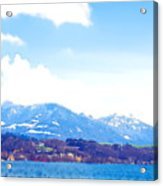 Across The Lake  Acrylic Print