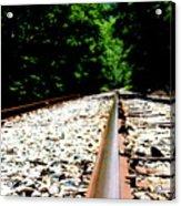 Across The Tracks Acrylic Print