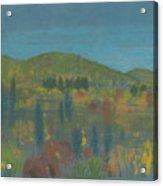Across The Valley Acrylic Print