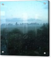 Across This Horizon Acrylic Print