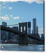 Across To Manhattan New York New York Acrylic Print