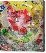 Acrylic Abstract 15-u.uuu Acrylic Print