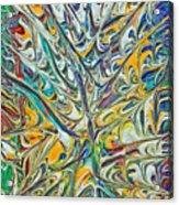 Acrylic Fire 2005 Acrylic Print
