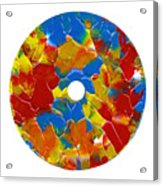 Acrylic  On  Cd  One Acrylic Print