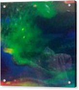 Acrylic Resin Pour 2871 Acrylic Print