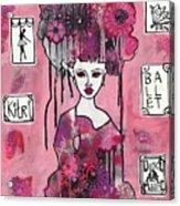 Acrylic Variations Kitri Acrylic Print