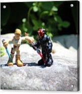 Action Figures Acrylic Print
