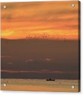 Activity On Lake Simcoe  Acrylic Print
