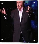 Actor And Comedian William Shatner Acrylic Print