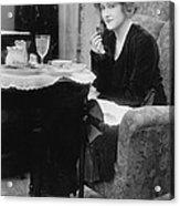 Actress Glady Brockwell Acrylic Print