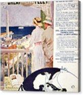 Ad: United Fruit Company Acrylic Print by Granger
