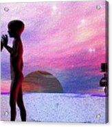Adam An Eve Acrylic Print