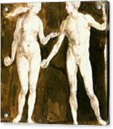 Adam And Eve 1504 Acrylic Print