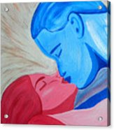 Adam And Eve Close Up Acrylic Print