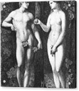 Adam & Eve Acrylic Print