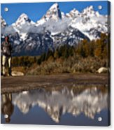 Adam Jewell At Schwabacher Landing Acrylic Print