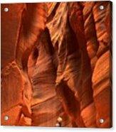 Adam Jewell In Buckskin Slot Canyon Acrylic Print