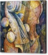 Adam's Cello Acrylic Print