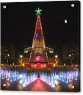 Adelaide Christmas Lights  Vg Acrylic Print