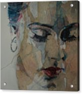 Adele - Make You Feel My Love  Acrylic Print