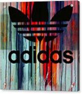Adidas Plakative - Typografie Acrylic Print