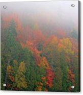 Adirondack Autumn Colors Acrylic Print