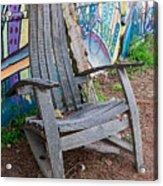 Adirondack Chair ? Acrylic Print