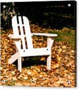 Adirondack Chair Acrylic Print