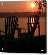 Adirondack Chairs-1 Acrylic Print